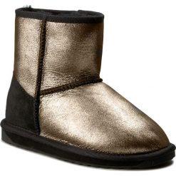 Buty EMU AUSTRALIA - Stinger Metallic Mini W11378 Black. Szare buty zimowe damskie EMU Australia, z gumy. Za 649,00 zł.