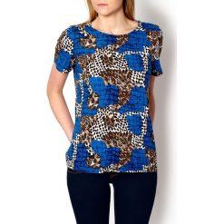 Bluzki asymetryczne: Bluzeczka w panterkę