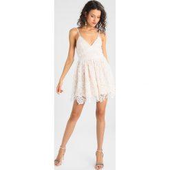 Sukienki: Missguided PREMIUM SKATER DRESS Sukienka letnia nude
