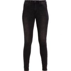 Jeansy damskie: TOM TAILOR DENIM NELA REGULAR WAIST Jeans Skinny Fit black denim