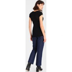 T-shirty damskie: American Vintage MASSACHUSETTS Tshirt basic black
