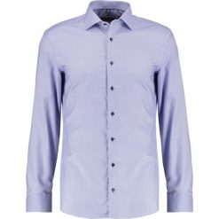 Koszule męskie na spinki: Eterna SLIM FIT PIPING Koszula biznesowa royal