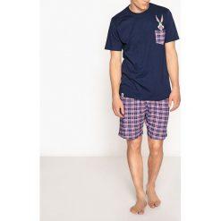 Piżamy męskie: Piżama letnia z bawełny z nadrukiem, Bugs Bunny