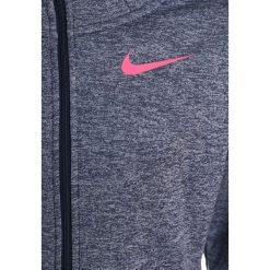 Nike Performance THERMA  Kurtka sportowa thunder blue/heather/racer pink. Szare kurtki dziewczęce Nike Performance, z materiału. W wyprzedaży za 131,40 zł.