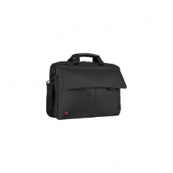 "Torba messenger Wenger Route 16"", czarna 601060. Czarne torby na laptopa marki Wenger, w paski. Za 313,20 zł."