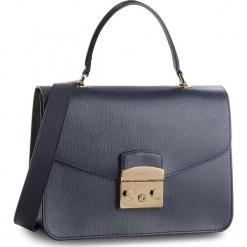 Torebka FURLA - Metropolis 962601 B BLE8 ARE Blu d. Niebieskie torebki klasyczne damskie Furla, ze skóry, duże. Za 1470,00 zł.
