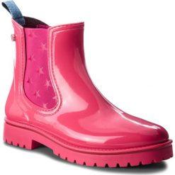 Kalosze TRUSSARDI JEANS - 79A00285 R130. Czerwone buty zimowe damskie Trussardi Jeans, z jeansu. Za 469,00 zł.