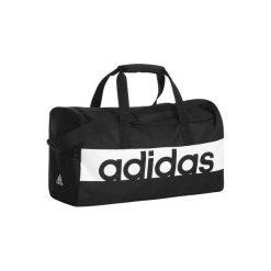Torba fitness. Czarne torebki klasyczne damskie marki Adidas, z materiału. W wyprzedaży za 64,99 zł.