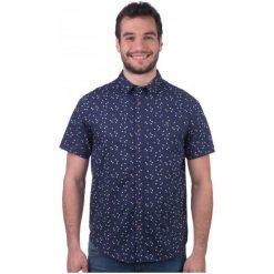 Brave Soul Koszula Męska Angle S Ciemnoniebieski. Szare koszule męskie marki Brave Soul, m. W wyprzedaży za 48,00 zł.