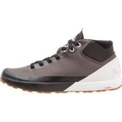 Salomon ACRO CHUKKA WR Buty trekkingowe magnet/black/white. Czarne buty trekkingowe męskie Salomon, z materiału, outdoorowe. Za 609,00 zł.