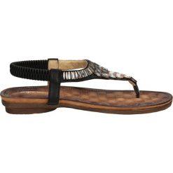 SANDAŁY SERGIO LEONE 9880. Brązowe sandały damskie marki Casu. Za 69,99 zł.