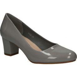 Czółenka na słupku Sergio Leone 16520. Czarne buty ślubne damskie marki Sergio Leone. Za 69,99 zł.