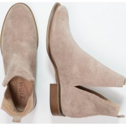 Botki damskie lity: Zign Ankle boot taupe