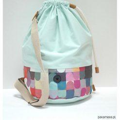 Torba Baggy Mint. Zielone torebki klasyczne damskie marki Pakamera, w kolorowe wzory, z bawełny, małe. Za 159,00 zł.