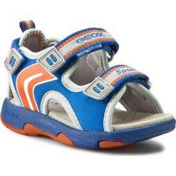 Sandały GEOX - B Sand Multy B. A B620FA 01550 CK41L Niebieski. Niebieskie sandały chłopięce marki Geox, z materiału. W wyprzedaży za 149,00 zł.