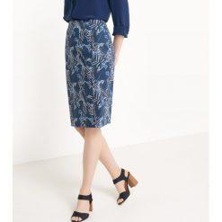 Spódniczki: Spódnica ołówkowa wzorzysta