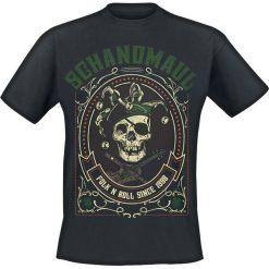 Schandmaul Folk N Roll T-Shirt czarny. Czarne t-shirty męskie Schandmaul, l. Za 74,90 zł.