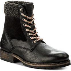 Botki PEPE JEANS - Melting Collar PLS50290 Black 999. Czarne botki damskie na obcasie marki Pepe Jeans, z jeansu. W wyprzedaży za 309,00 zł.