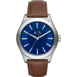 Armani Exchange Zegarek dunkelbraun. Czarne zegarki męskie marki Armani Exchange, l, z materiału, z kapturem. Za 579,00 zł.