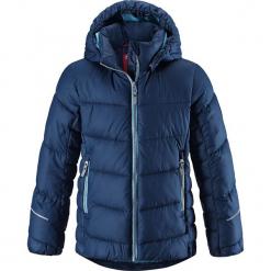 """Kurtka zimowa """"Malla"""" w kolorze niebieskim. Niebieskie kurtki dziewczęce zimowe marki Reima, z materiału. W wyprzedaży za 237,95 zł."""
