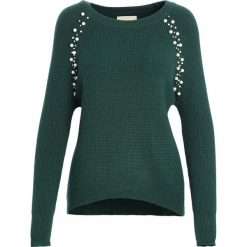 Zielony Sweter Higher Than Reason. Zielone swetry klasyczne damskie Born2be, na jesień, l. Za 89,99 zł.