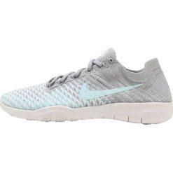 Buty do fitnessu damskie: Nike Performance FREE TR FLYKNIT 2 Obuwie treningowe wolf grey/glacier ice/white