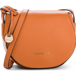 Torebka COCCINELLE - DF8 Clementine E1 DF8 15 02 01 Flash Orange R12. Brązowe listonoszki damskie Coccinelle, ze skóry. Za 999,90 zł.