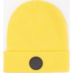 Czapka beanie - Żółty. Żółte czapki męskie Reserved. Za 39,99 zł.