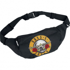 Guns N' Roses Roses Logo Torba na pas czarny. Czarne torebki klasyczne damskie Guns N' Roses, duże. Za 99,90 zł.