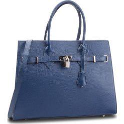 Torebka CREOLE - K10371 Granatowy. Niebieskie torebki klasyczne damskie Creole, ze skóry, zdobione. W wyprzedaży za 219,00 zł.
