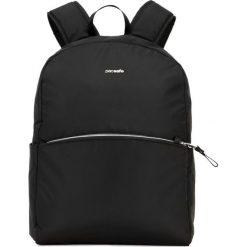 Plecaki damskie: Pacsafe Plecak damski antykradzieżowy Pacsafe Stylesafe backpack czarny (PST20615100)