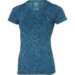 Asics Koszulka Allover Graphic Top SS niebieska r. M (121645 0131). Niebieskie topy sportowe damskie Asics, m. Za 95,32 zł.