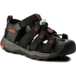 Sandały KEEN - Newport Neo H2 1018421 Black/Firey Red. Czarne sandały chłopięce Keen, z materiału. W wyprzedaży za 199,00 zł.