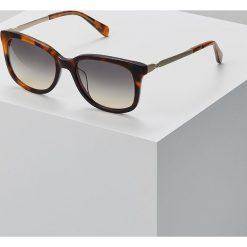 Fossil Okulary przeciwsłoneczne mottled brown. Brązowe okulary przeciwsłoneczne damskie lenonki marki Fossil. Za 369,00 zł.