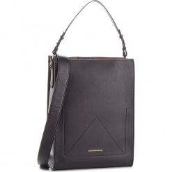 Torebka EMPORIO ARMANI - Y3E108 YDT2A 88042 Nero/Cuoio. Czarne torebki klasyczne damskie marki Emporio Armani, ze skóry. Za 1919,00 zł.