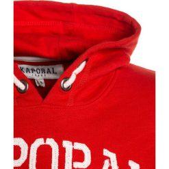 Kaporal ROWOK Bluza z kapturem blood. Czerwone bluzy chłopięce rozpinane Kaporal, z bawełny, z kapturem. Za 189,00 zł.