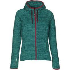 Bluzy rozpinane damskie: KILLTEC Bluza damska Wira zielono-czerwona r.42 (2934142)