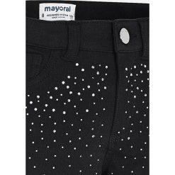 Mayoral - Spodnie dziecięce 128-167 cm. Czarne rurki dziewczęce Mayoral, z bawełny. Za 139,90 zł.