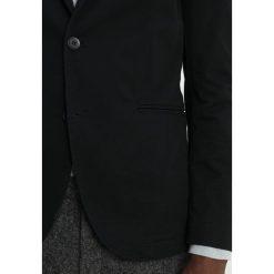 Marynarki męskie slim fit: Sisley Marynarka black
