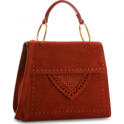Torebka COCCINELLE - C10 B14 Lace Suede E1 C10 18 03 01 Bourgogne R00. Czerwone torebki klasyczne damskie Coccinelle, ze skóry, duże. W wyprzedaży za 1119,00 zł.