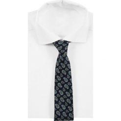 Eton TIE Krawat blue. Niebieskie krawaty męskie Eton, z bawełny. Za 419,00 zł.