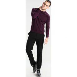 Chinosy męskie: Burton Menswear London Spodnie materiałowe black
