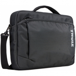 "Thule Subterra MacBook Attache 13"". Czarne torby na laptopa Thule, w paski. Za 299,00 zł."