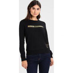 Armani Exchange Bluza black. Czarne bluzy damskie Armani Exchange, xs, z bawełny. Za 359,00 zł.