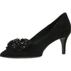 Czółenka RUMI. Czarne buty ślubne damskie Gino Rossi, ze skóry, na szpilce. Za 219,90 zł.