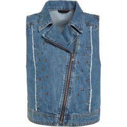 Sisley Kamizelka blue denim. Czarne kamizelki dziewczęce marki Sisley, l. W wyprzedaży za 135,85 zł.