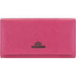 Portfel 13-1-048-RP. Czerwone portfele damskie Wittchen. Za 379,00 zł.
