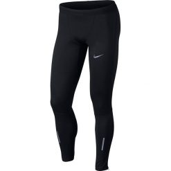 Spodnie biegowe męskie NIKE M SHIELD TECH TIGHT / 859270-010. Czarne spodenki i szorty męskie Nike, z elastanu. Za 299,00 zł.