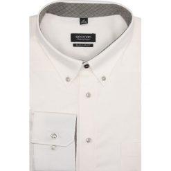 Koszula navia 1659 długi rękaw regular fit ecru. Szare koszule męskie jeansowe marki Recman, m, button down, z długim rękawem. Za 99,00 zł.