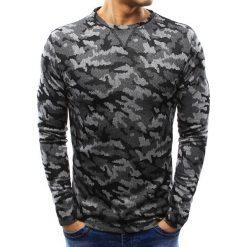 Swetry klasyczne męskie: Sweter męski szary (wx0992)